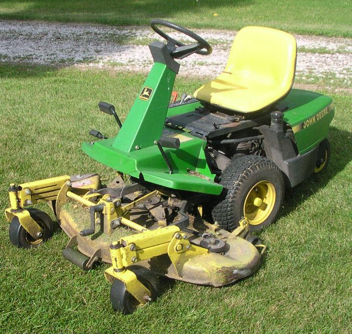 John Deere F525 Lawn Mower Zero Turn Front Deck Tractor