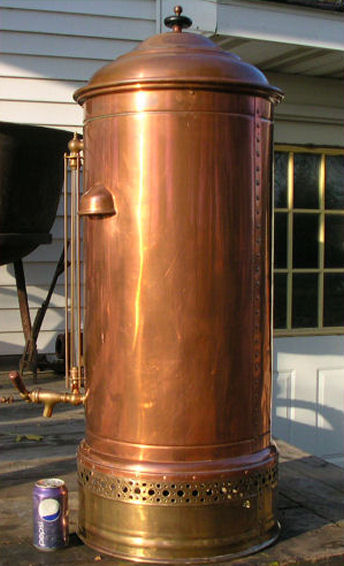 Riches For Less Antique Copper Amp Brass Coffee Urn
